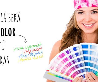 ¡Sorteo! El 2014 será del color que tú quieras