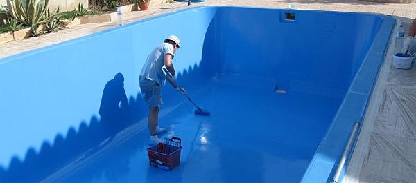 C mo pintar una piscina tutorial - Como limpiar el fondo de una piscina ...
