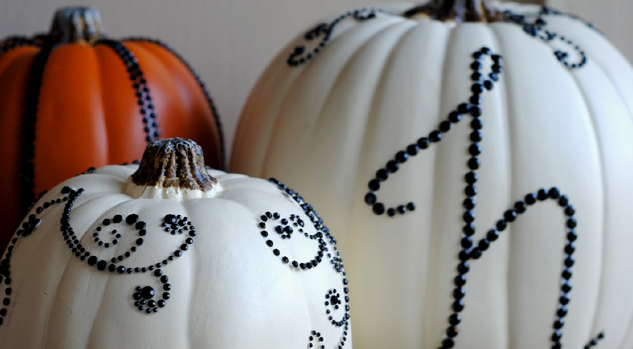 calabazas chic halloween DIY