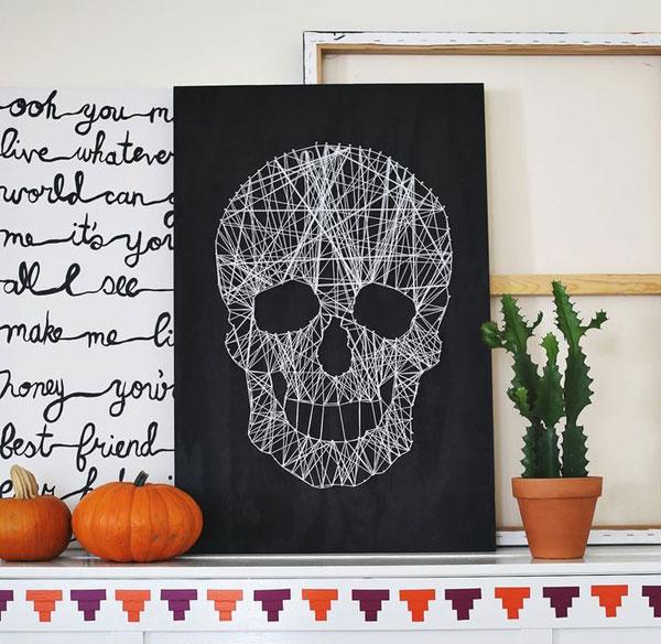 Ideas de decoraci n para halloween blog pintar sin parar - Ideas para decorar calabazas halloween ...