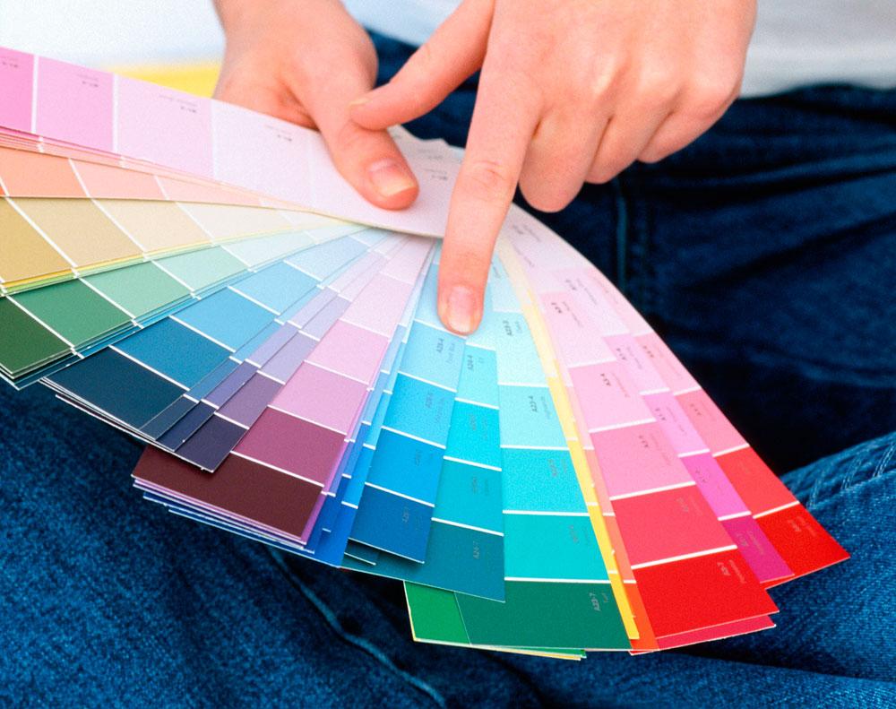 C mo saber qu color es el que busco para pintar - Gama de colores para pintar ...
