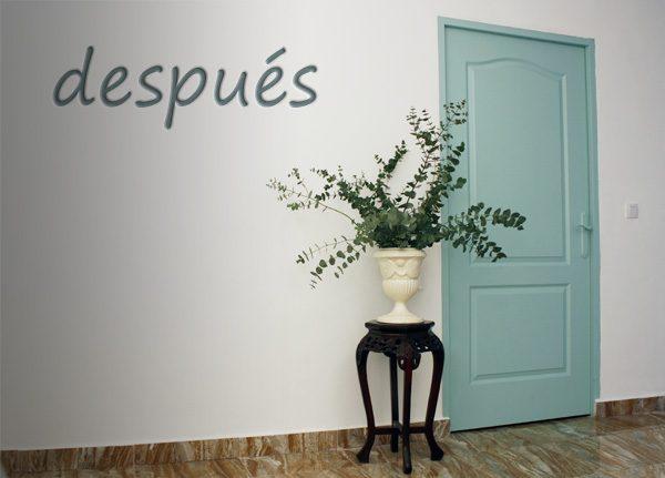 C mo pintar las puertas con eggshell for Como pintar una puerta
