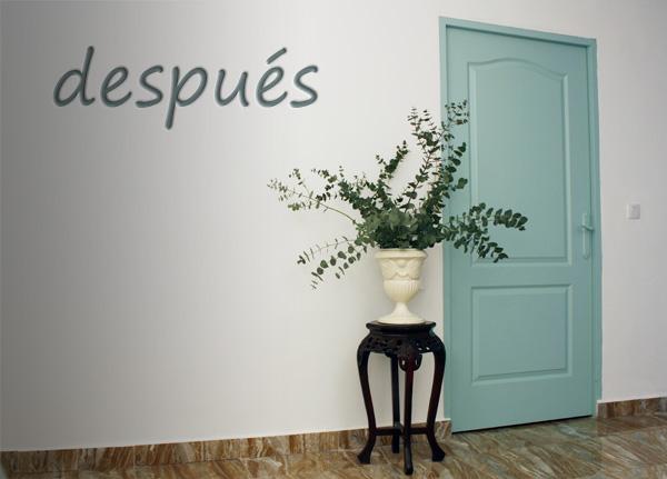 Pintura para madera - Como pintar puertas en blanco ...
