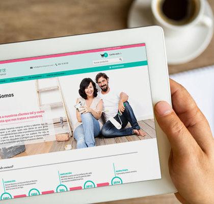 Nueva web, nuevos servicios, más ventajas para nuestros clientes
