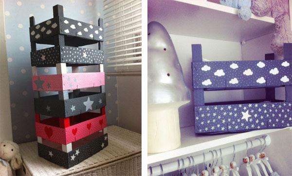 Decorar con cajas de madera blog pintar sin parar - Como decorar cajas de madera de fruta ...