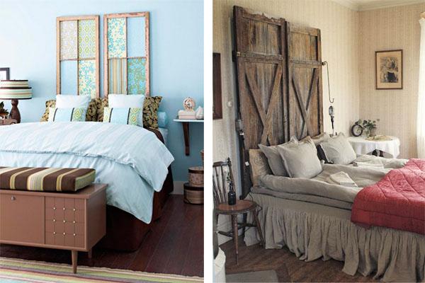 Cabeceros de cama con mucha vida blog pintar sin parar - Cabezales de cama de madera ...