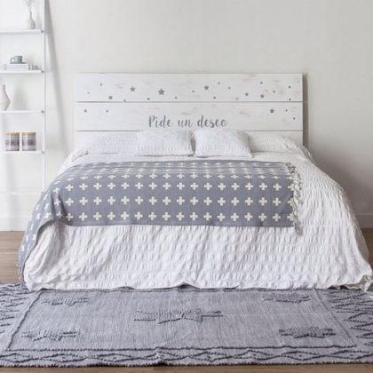 Cabeceros de cama con mucha vida