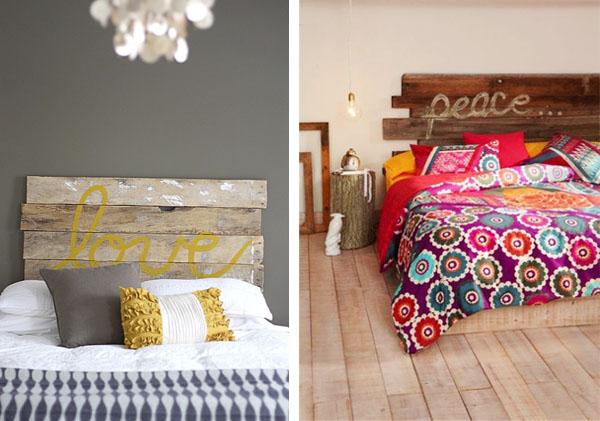 Cabeceros pintados dedica cambia el cabecero decoracion arbol pintado en la pared murales - Cabeceros de cama originales pintados ...