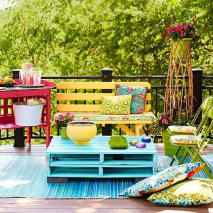 Las terracitas son para el verano.