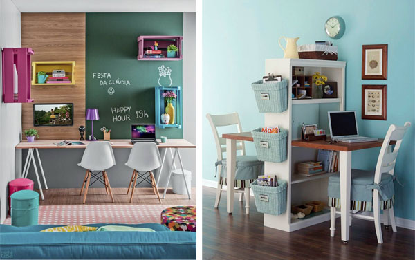 C mo decorar un escritorio - Ideas para escritorios ...