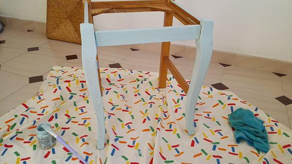 Pintar sillas con chalk paint es facil simo - Sillas para pintar ...