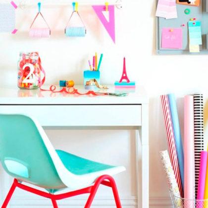Ideas para poner un escritorio en la habitación de los peques