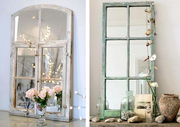 por ltimo os doy un par de ideas que se salen de lo habitual para colocar espejos en el cuarto de bao como mosaico y como ladrillo