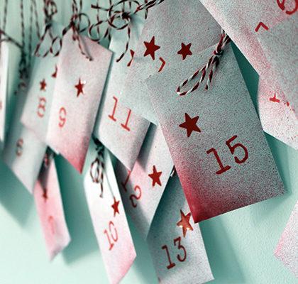 Calendario de Adviento para hacer en familia