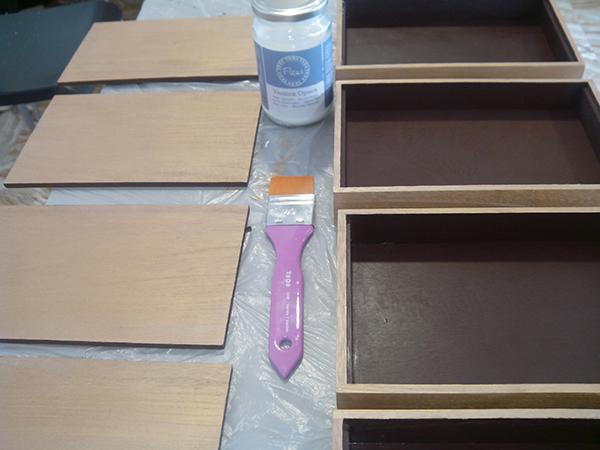 C mo personalizar cajas para llevar la cuenta a tus clientes - Barniz para chalk paint ...