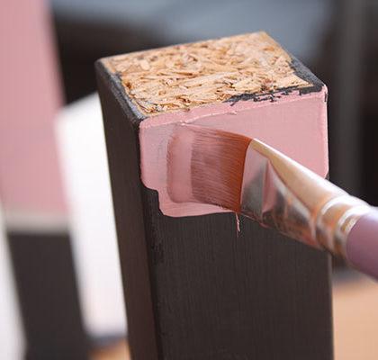 ¿Qué es el dip painting?