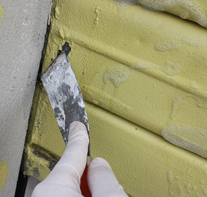 Como pintar la persiana metálica de un local