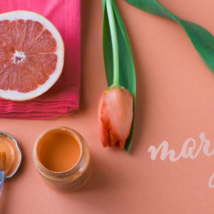 Marzo, el mes más naranja
