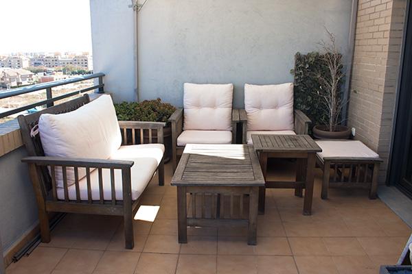 Paso a paso para pintar los muebles de la terraza - Muebles de terraza ...