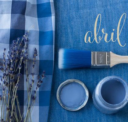 Azul, el color del mes de abril