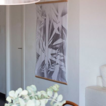 Haz Shibori con pintura textil en spray