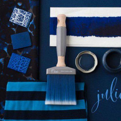 Julio, intenso como el azul marino