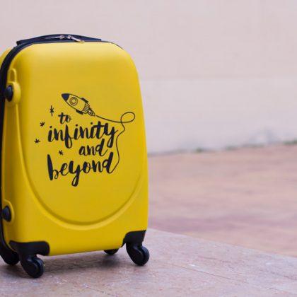 ¿Sabes que también puedes pintar tu maleta?