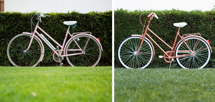 C mo pintar una bicicleta vintage - Pintar llantas bici ...