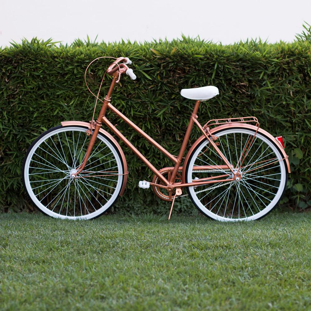 Cómo pintar una bicicleta vintage