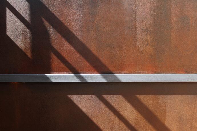 Efecto xido para exteriores - Efectos pintura paredes ...