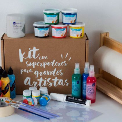 Despierta la creatividad de los peques de casa
