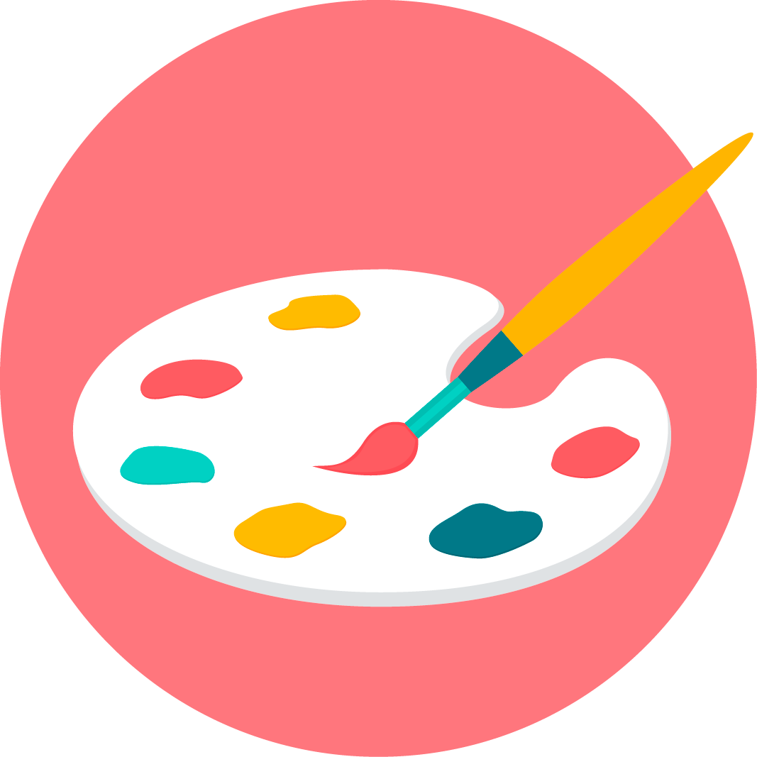 Pintura paleta blog pintar sin parar - Paleta de colores pintura pared ...