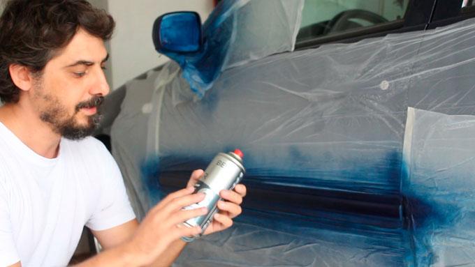 no utilizar chalk paint en tu vehículo