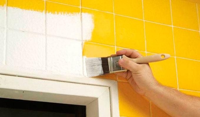Todos los tips sobre c mo pintar azulejos - Pintar sobre azulejos ...