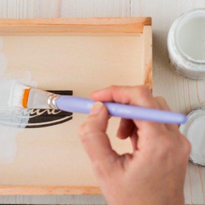 No hay que ser un manitas para pintar con Chalk Paint