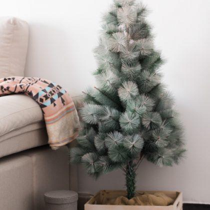 Recupera tu árbol de Navidad con Spray Chalk Paint