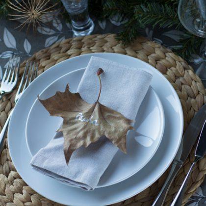 Ideas para el sitting de tus mesas navideñas