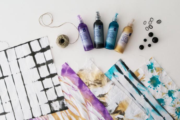 como-hacer-hacer-shibori-con-pintura-en-spray