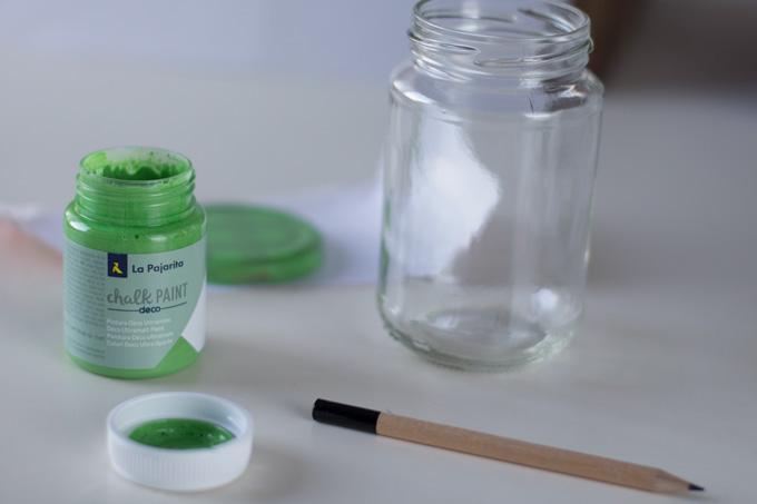 decorar con chalk paint la pajarita