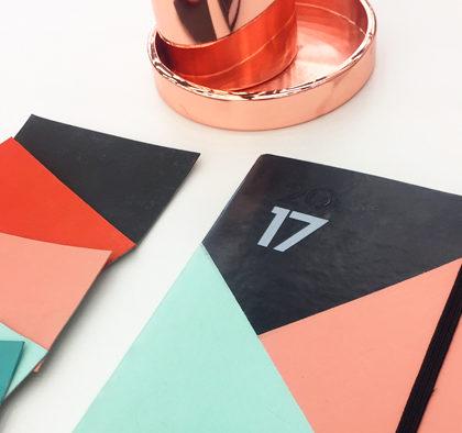 Personaliza tu agenda con Chalk Paint La Pajarita