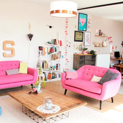 Cómo no utilizar el color rosa en decoración