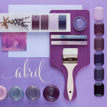 Abril se pone primaveral con el color violeta