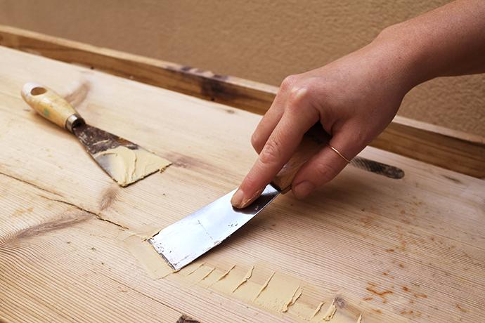 C mo reparar madera para el exterior - Masilla para reparar madera ...
