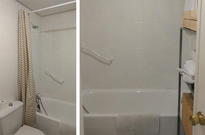 Pintar azulejos el ba o con esmalte - Pintar azulejos de bano antes y despues ...