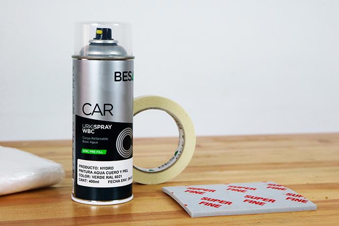 spray pintura para cuero