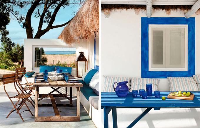 3 pasos para tener una terraza diez por 3 duros - Muebles estilo mediterraneo ...