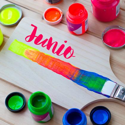 En Junio te damos ideas de decoración con colores Flúor