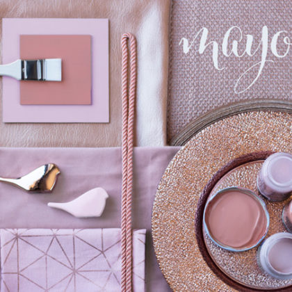 Rose Gold, color y tendencia para Mayo