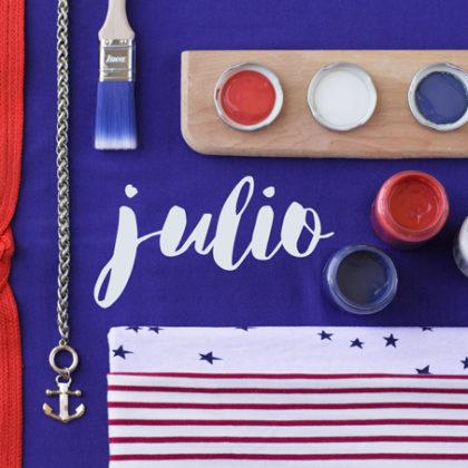 Decoración navy: Julio es el mes más marinero