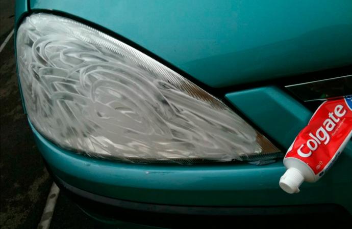 Limpiar los faros del coche consejos y trucos - Limpiar con alcohol ...
